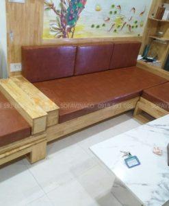 Bộ đệm ghế sofa đã được bàn giao cho khách hàng tại Phạm Tuấn Tài