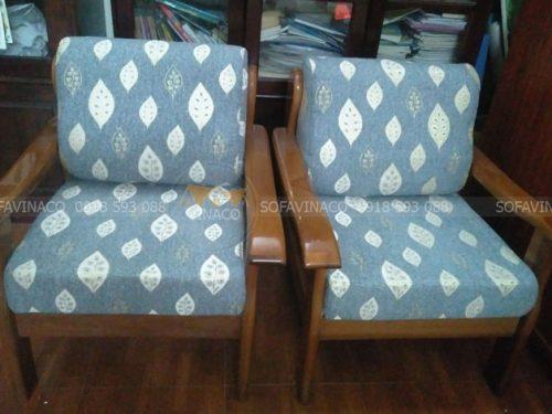 Bộ vỏ đệm ghế mới đã được làm xong cho khách hàng ở Nghĩa Tân