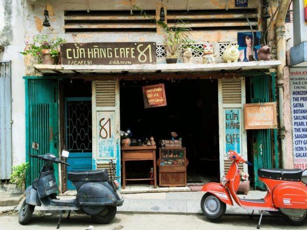 Phong cách Vintage của các quán trà đá, café