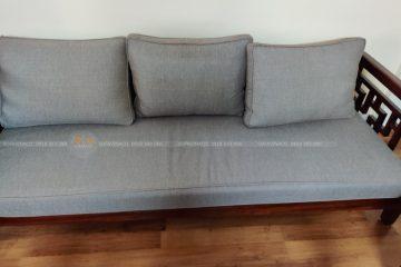 Bọc nỉ ghế sofa – gợi ý vải nỉ bọc sofa phòng khách phù hợp cho gia đình