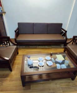 công trình làm đệm ghế da cho khách củ vinaco