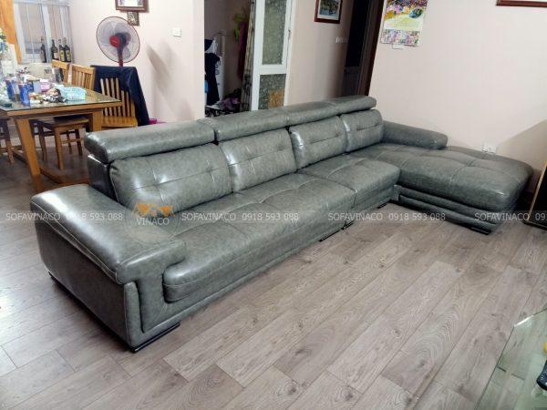 Bộ ghế sau khi thay vỏ bọc mới