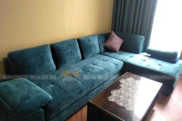 Vì sao nên lựa chọn vải nỉ khi bọc ghế sofa đơn?