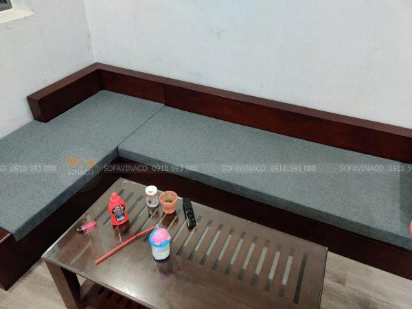 Đệm ghế sofa của khách Nam Từ Liêm