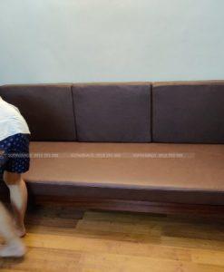 sự sang trọng với đệm ghế da