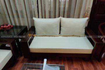 Những điều cần lưu ý khi bọc ghế sofa gỗ nỉ cho phòng khách – Sofa Vinaco