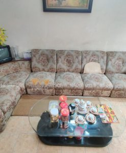 hình ảnh bộ ghế sofa bằng vải cũ tại khương thượng
