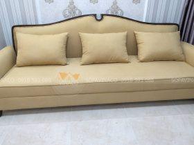 công trình bọc ghế sofa vải tại trần duy hưng