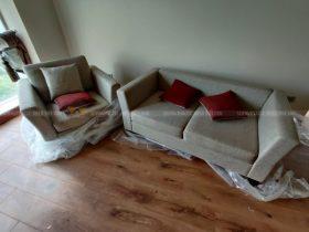 công trình bọc ghế sofa vải cũ