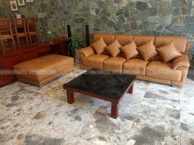 đệm ghế sofa sau khi được thay mới