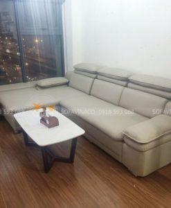 công trình bọc ghế da tại Thanh Xuân