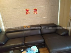 bộ ghế da bọc da cao cấp tại Timecity
