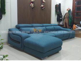 công trình đổi ghế da thành vải của chú Hạnh