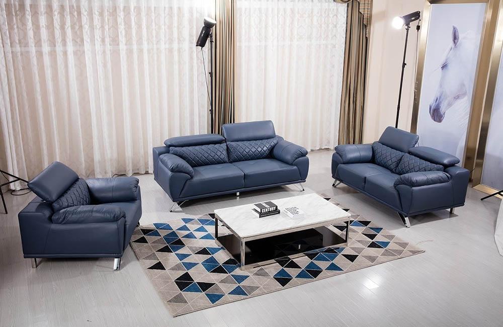 Sofa chất liệu da đẳng cấp và thời thượng cho không gian phòng khách nhà bạn