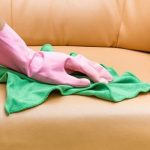 Thường xuyên tạo thói quen vệ sinh lau chùi ghế sofa da thật loại bỏ những vi khuẩn, bụi bặm bám trên bộ ghế sofa