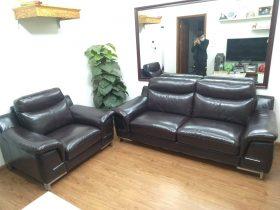 Bộ ghế sofa sau khi được nhân viên Vinaco bọc xong