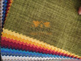 Các màu sắc của mẫu vải thô H15