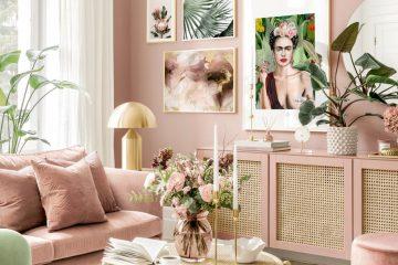"""Sofa hồng Pastel – món đồ """"tuyệt"""" theo phong cách nhẹ nhàng"""