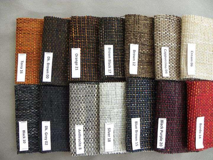 Đa dạng màu sắc, chất liệu vải bọc khác nhau từ vải thô, vải nỉ nhung cho bạn lựa chọn