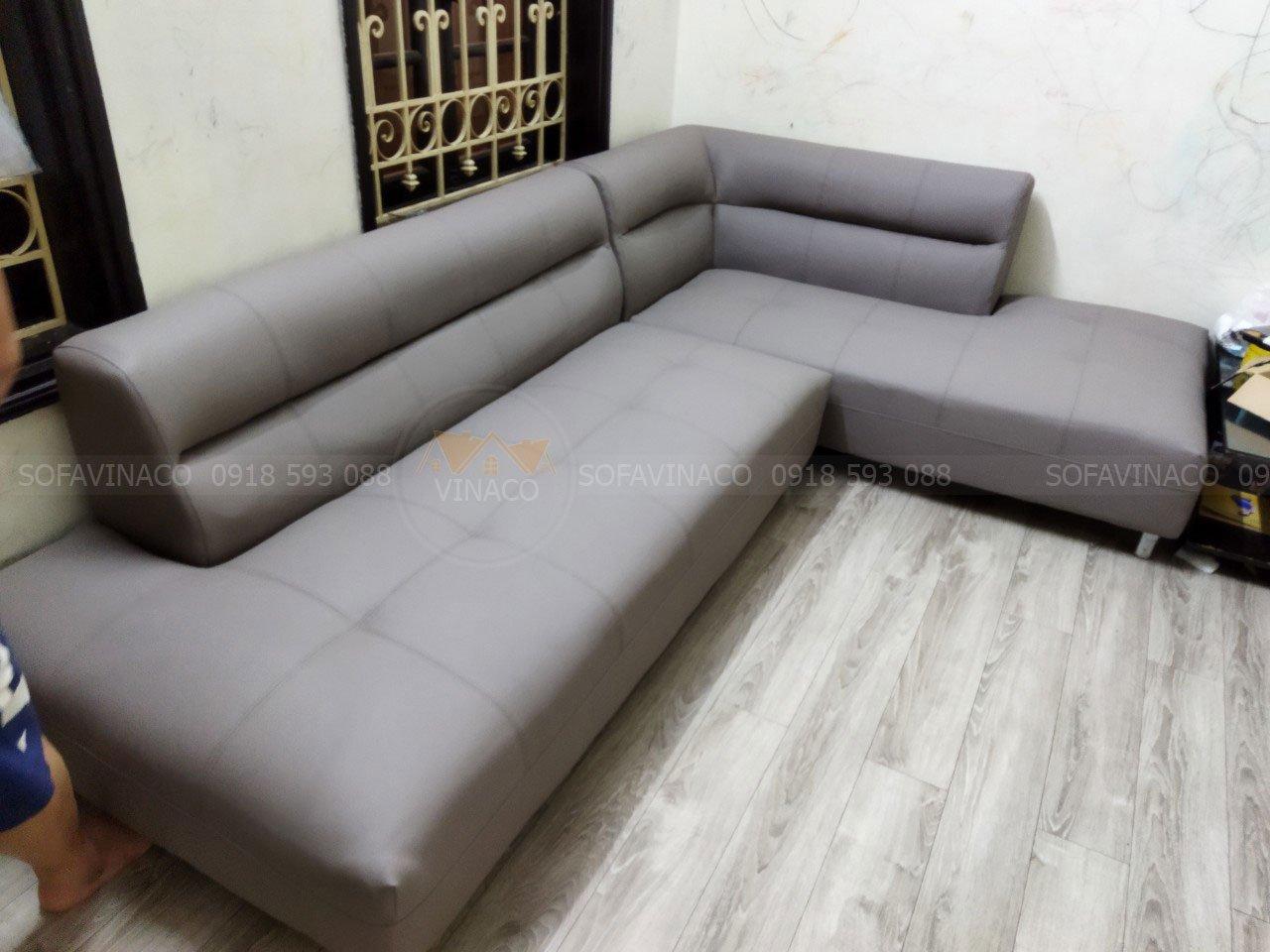 Công trình bọc ghế sofa cho anh Nam tại phường Mỹ Đình đã hoàn thành